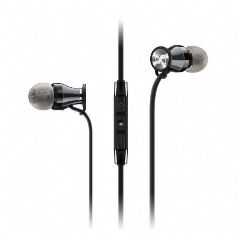 M2 IEI TRAVEL Black Chrome наушники Sennheiser